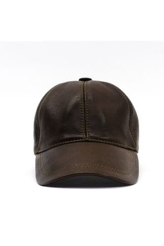 Leather Cap brown